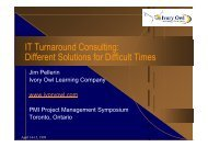 IT Turnaround Consulting: Different Solutions for Difficult Times