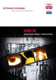 VIM-IC - ALD Vacuum Technologies