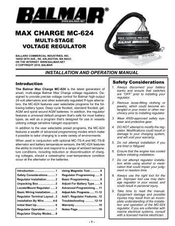 max charge mc 624 balmar?quality=85 digital duo charge installation operation balmar  at bakdesigns.co