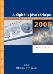 A magyar társadalom és az internet 2005 végén - Tárki
