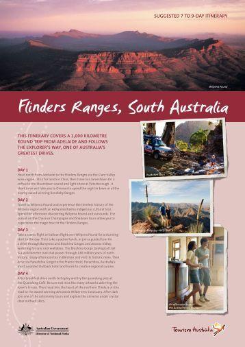 Flinders Ranges itinerary - Tourism Australia
