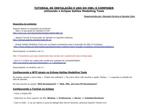 Tomcat Tutorial Pdf