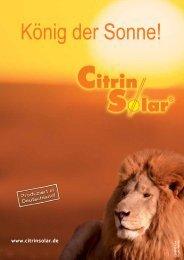 sonnen haus - Citrin Solar