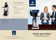 Business-Line-Kaffeemaschine Typ 205 - Tchibo Coffee Service