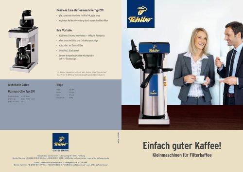 Business-Line-Kaffeemaschine Typ 205 - Tchibo Coffee Service