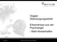 Vortragsfolien - Albert Schweitzer Stiftung für unsere Mitwelt