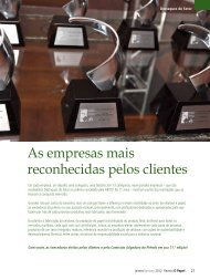 As empresas mais reconhecidas pelos clientes - Revista O Papel
