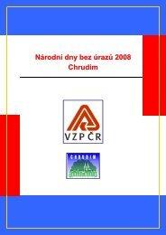 závěrečná zpráva z kampaně - Chrudim