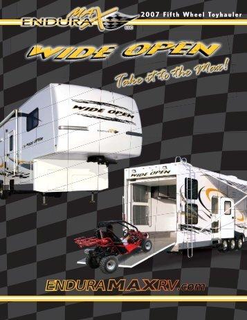 2007 Wide Open Brochure - Rvguidebook.com
