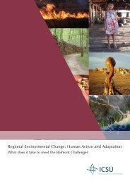 Regional Environmental Change: Human Action and Adaptation