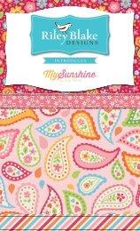 My Sunshine - Riley Blake Designs