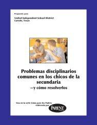 Problemas disciplinarios comunes en los chicos de la secundaria