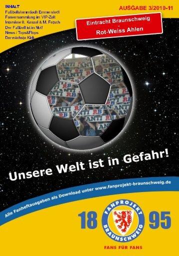Heft 03: Rot-Weiss Ahlen - FanPresse Braunschweig