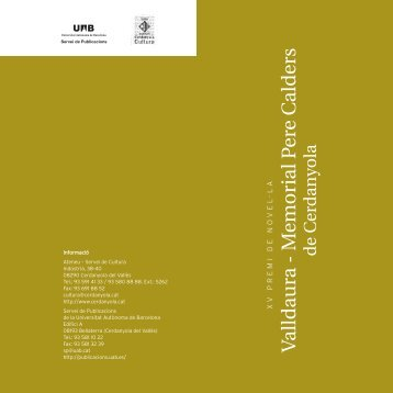 Maquetación 1 - Publicacions de la Universitat Autònoma de ...