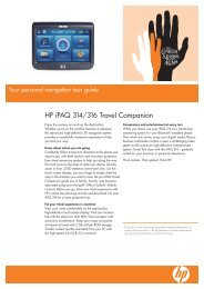 HP iPAQ 314/316 Travel Companion - Hewlett Packard