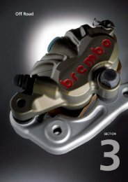 Catalogo BREMBO RACING Off-Road - Motorquality