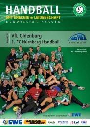 VfL Oldenburg 1. FC Nürnberg Handball - Vfl-oldenburg.org
