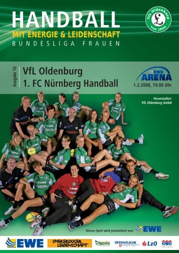 VfL Oldenburg 1. FC Nürnberg Handball - Vfl-oldenburg.org