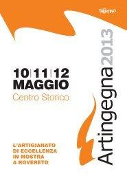 Catalogo Artingegna - Azienda per il Turismo Rovereto e Vallagarina