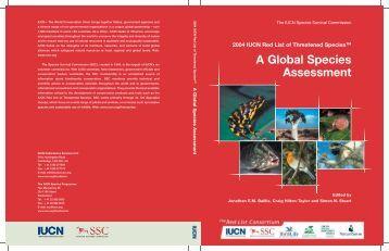 2004 IUCN Red List of Threatened Species - Instituto de Biociências