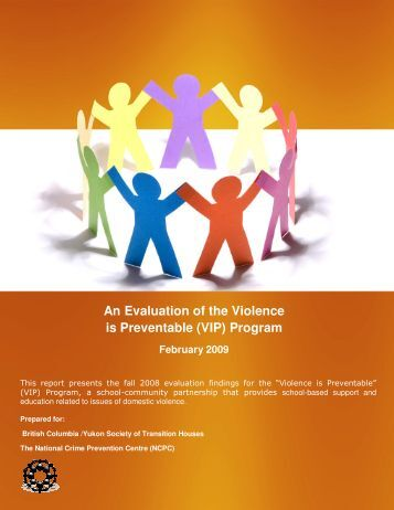 An Evaluation of the Violence is Preventable (VIP) Program