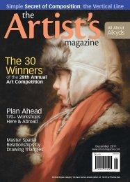The Artist's Magazine, December 2011 - Artist's Network
