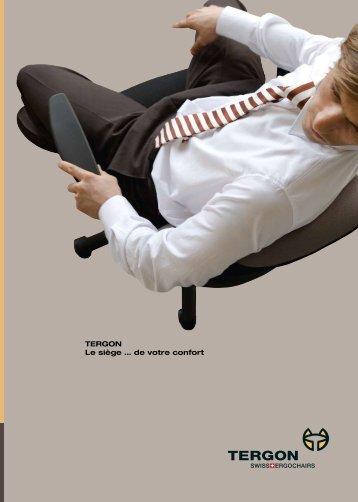 TERGON Le siège … de votre confort