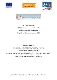 """P.O. FESR 2007/2013 PON """"Governance e Assistenza Tecnica"""" Ob ..."""