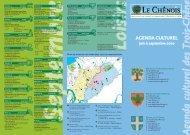 Agenda culturel des Trois-Chêne - Chêne-Bougeries