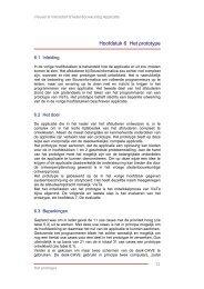 Hoofdstuk 6 Het prototype - Ontwerp Systemen