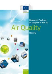 Research Findings in support of the EU Air Quality - KoWi
