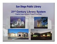 San Diego Public Library 21st Century Library System