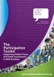 The Participation Toolkit - Sheffield Health and Social Care