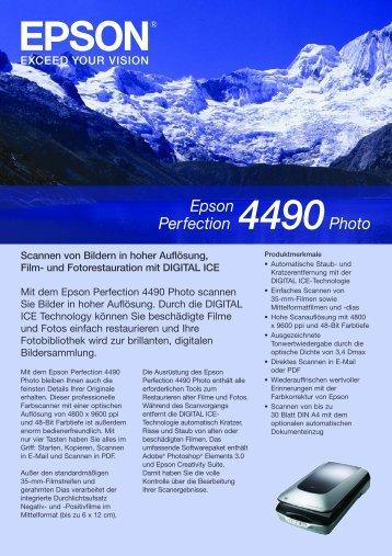 Epson Perfection 4490Photo
