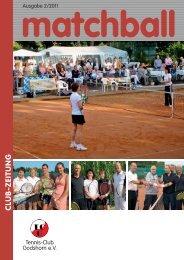 Wach werden rettet Leben. - Tennis Club Godshorn e.V.
