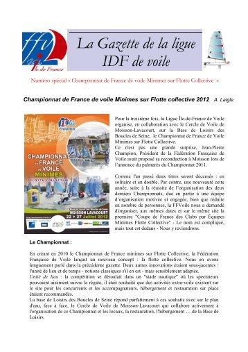 la Gazette N° 11 - Juillet 2012 - FFVoile.fr