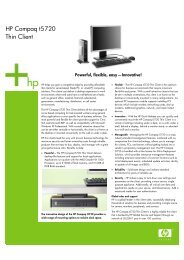 HP Compaq t5720 Thin Client - Hewlett Packard