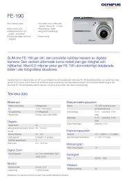 FE-190, Olympus, Compact Cameras