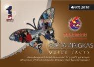 Fakta Ringkas April 2010 - Jabatan Pengajian Politeknik
