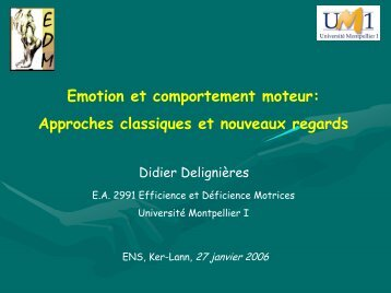 Diapositive 1 - ENS de Cachan - Antenne de Bretagne
