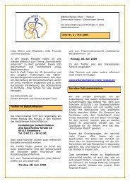 Infobrief 2/2009 - gemeinsam leben - gemeinsam lernen