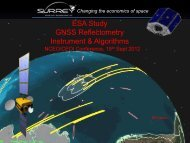 SGR-ReSI - A remote sensing instrument using reflected GNSS ...