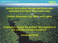 Annual land carbon storage and fluxes data estimated from Earth ...