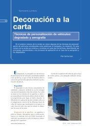 Decoración a la carta Técnicas de ... - Centro Zaragoza