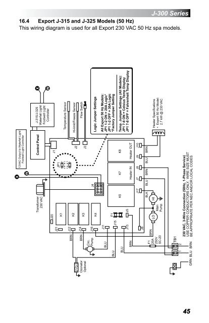 Jacuzzi J 345 Wiring Diagram. . Wiring Diagram on