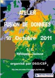 Atelier fusion de données du 18 Octobre 2011 - Météo France