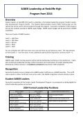 SABER-leaders-student-booklet - Redcliffe State High School - Page 6