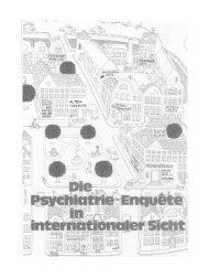 Die Psychiatrie-Enquete in internationaler Sicht - Aktion Psychisch ...