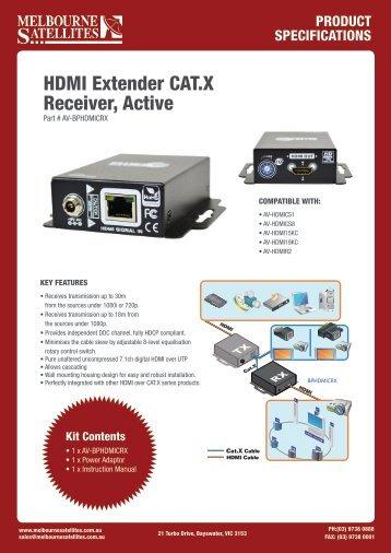Product Information - Melbourne Satellites