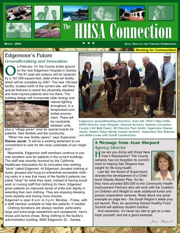 HHSA Connection - County of San Diego